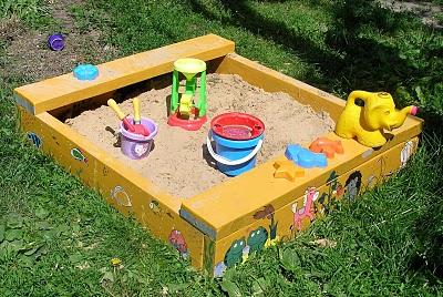 Детские игры с песком и водой