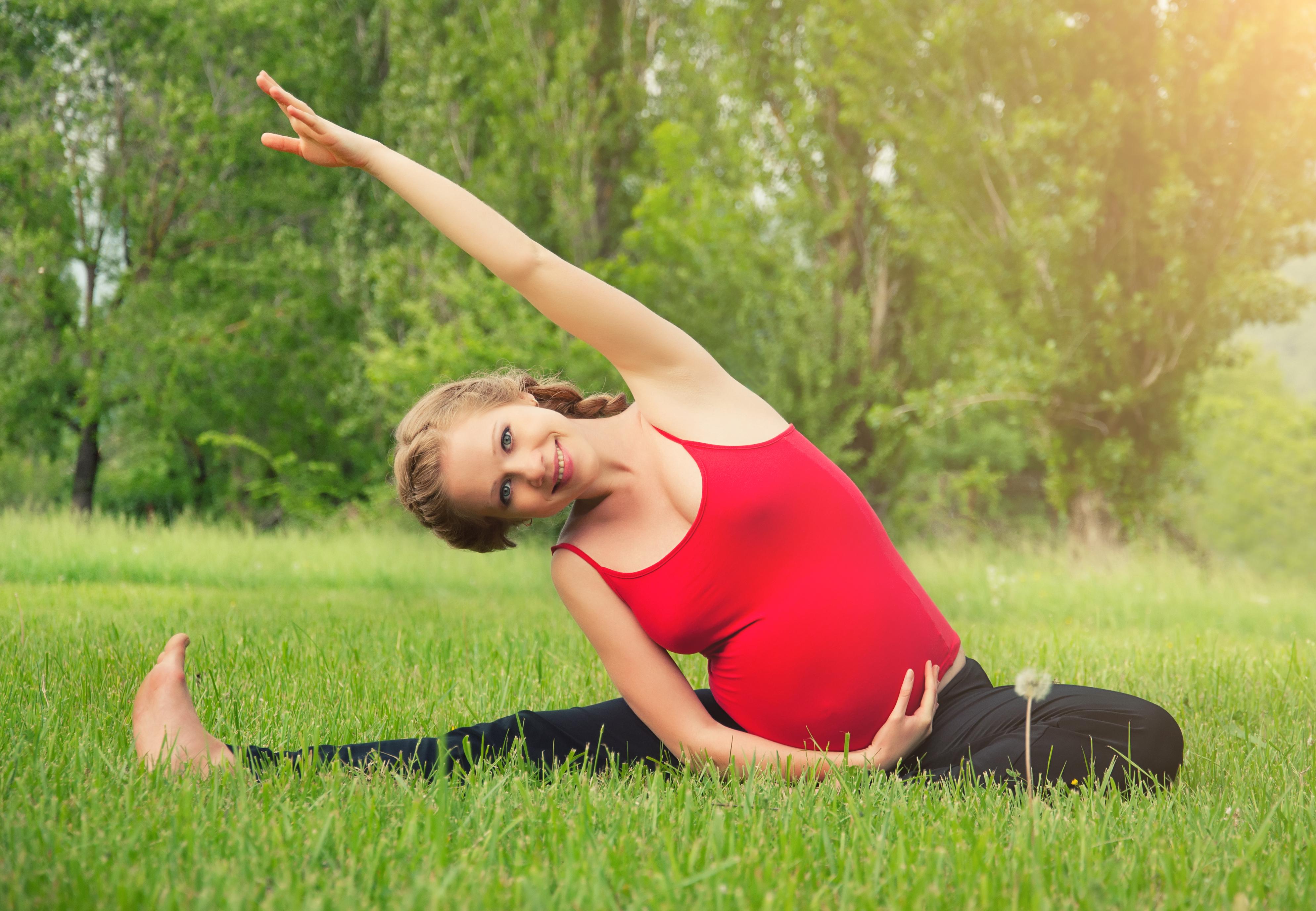 Здоровый образ беременной женщины