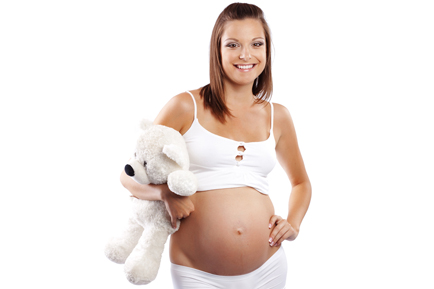 Кто беременный красил волосы 42