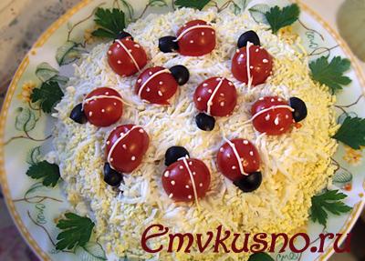Самые вкусные салаты праздничные рецепты