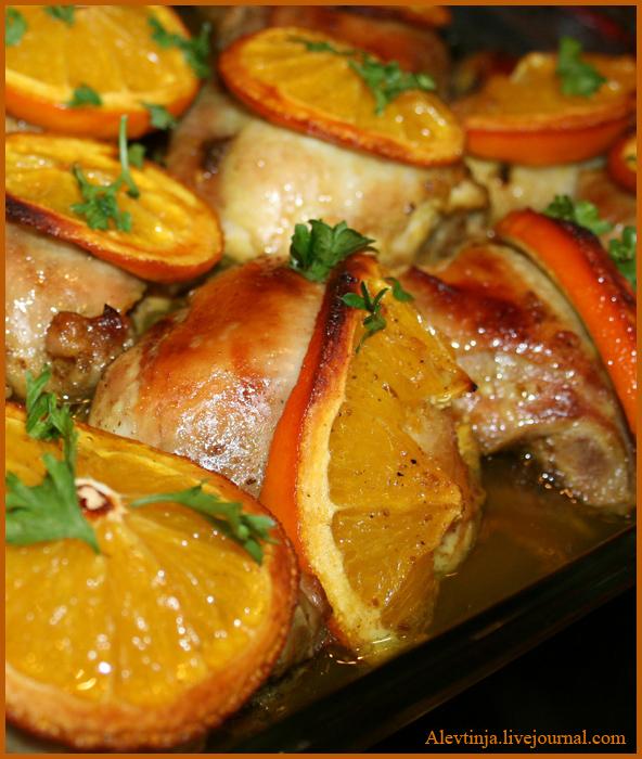 Мясо пофранцузски из курицы в духовке Рецепт с