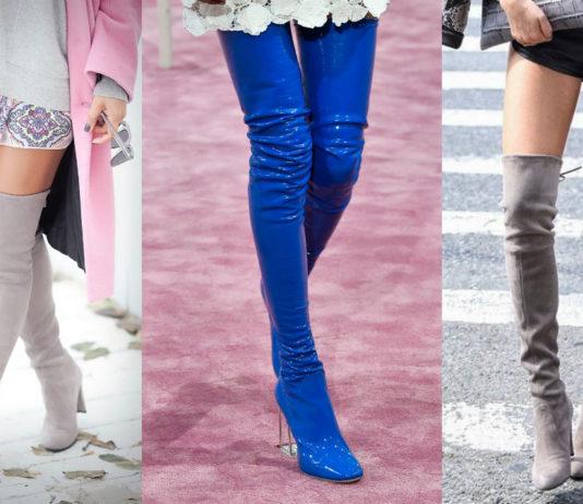 Длиннее, выше, смелее: почему ботфорты не выходят из моды