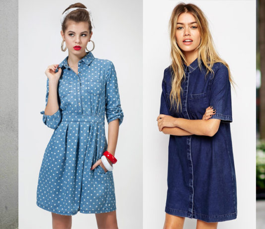 Модные платья весна лето 2018