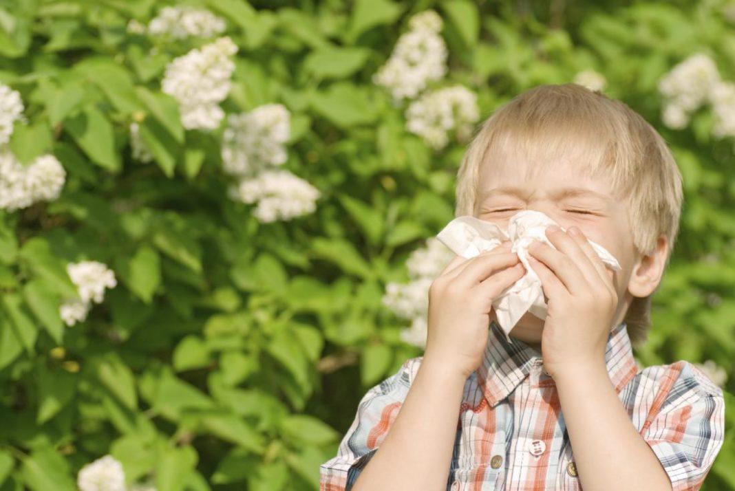 Причины аллергии у детей