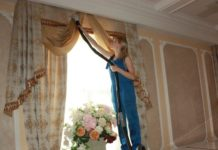 Химчистка штор на предприятии и на дому – востребованная услуга