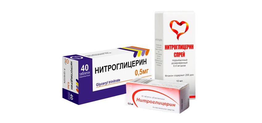 Влияние Нитроглицерина на организм