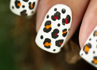 Леопардовый маникюр: как сделать