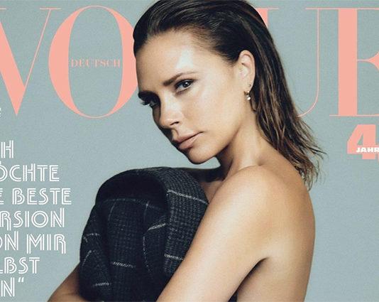 Виктория Бекхэм снялась для немецкого Vogue