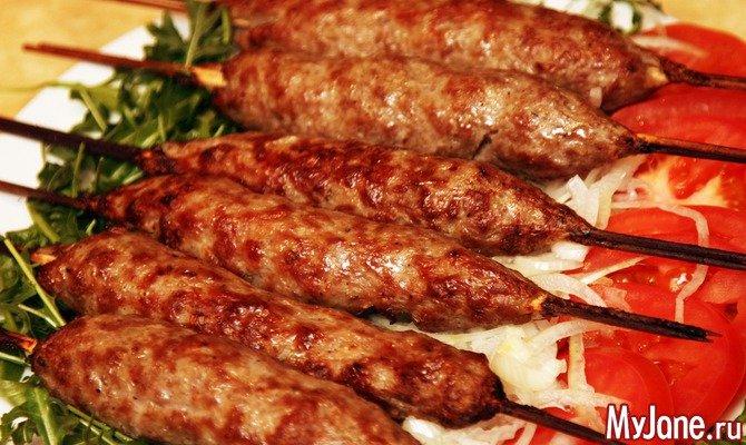 Люля-кебаб — легендарное блюдо азербайджанской кухни