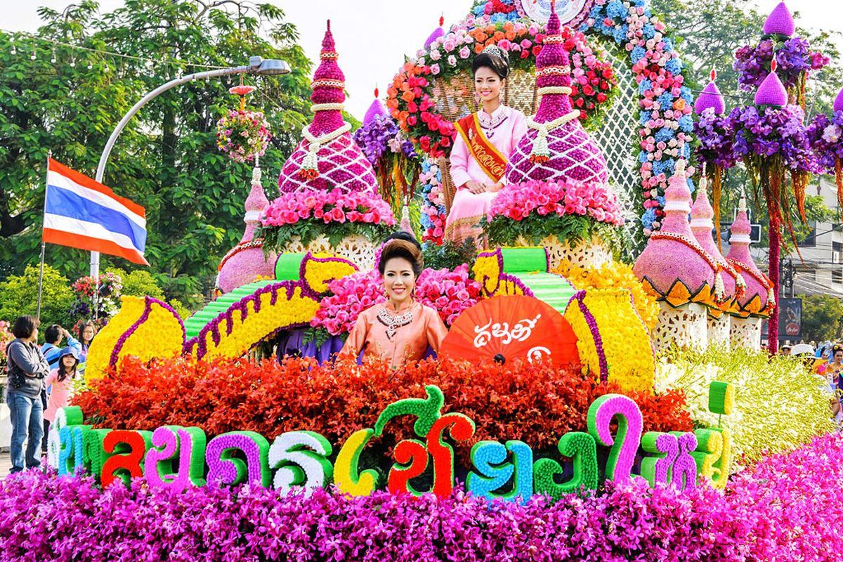 Весенние фестивали и праздники Таиланда